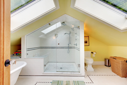 Loft conversion bathroom ideas for Bathroom ideas loft conversion