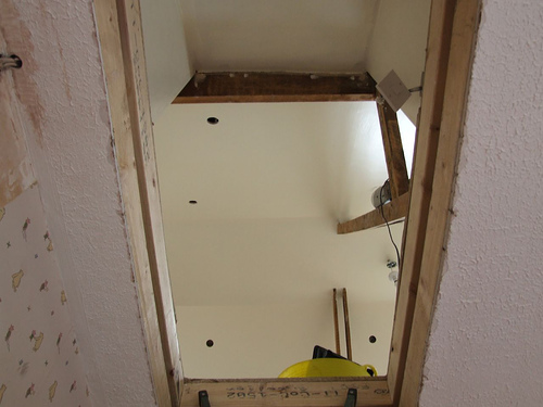 Loft Conversion Access Ladder Or Staircase