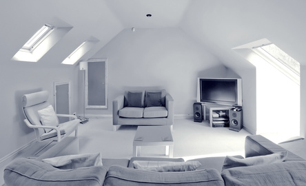 loft living room is a option when converting the loft