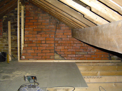 Attic Loft Conversion Flooring In Loft Conversions