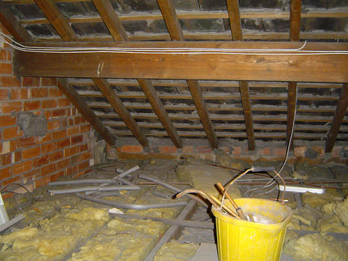 Elements In The Loft Roof Structure